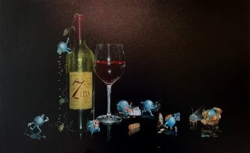 7 Deadly Zins Limited Edition Print by Michael Godard