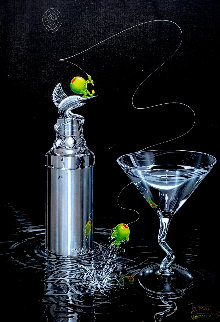 Marlin Martini 2003 Limited Edition Print - Michael Godard
