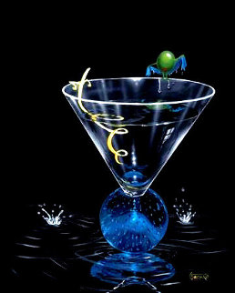 Dry Martini With a Twist 2006 Limited Edition Print - Michael Godard