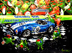 We Olive a Shelby AP 2008 Embellished - HS by Carroll Shelby Limited Edition Print - Michael Godard