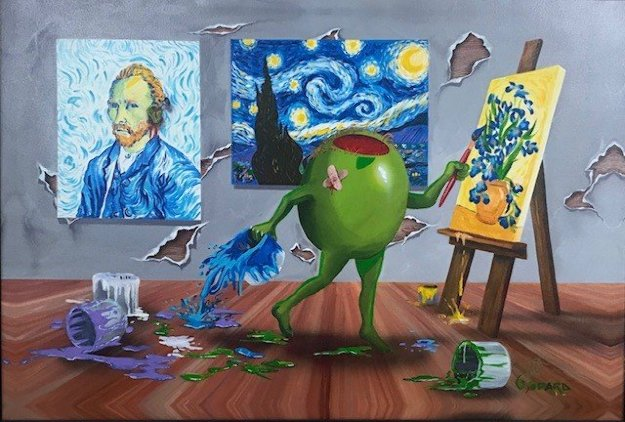 Van Gogh AP Embellished Limited Edition Print by Michael Godard