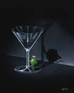 He Devil Martini 2005 Limited Edition Print - Michael Godard