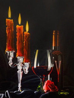 Vampire Wine 2020 Embellished Limited Edition Print by Michael Godard