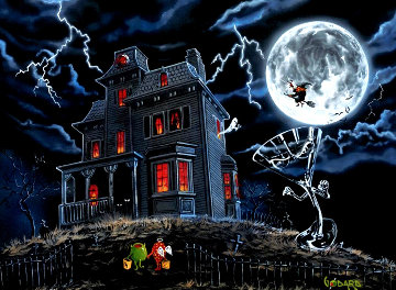 Halloween 2014 Limited Edition Print - Michael Godard