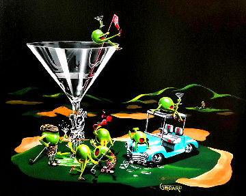 19th Hole Don't Drink & Draw Series 2006 Limited Edition Print - Michael Godard