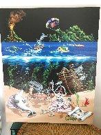 Sand Bar 2 Embellished Limited Edition Print by Michael Godard - 1