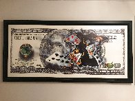 100 Bill - Full House 2006 Super Huge Limited Edition Print by Michael Godard - 1