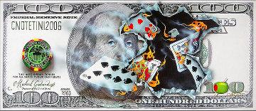 100 Bill - Full House 2006 Huge Limited Edition Print - Michael Godard
