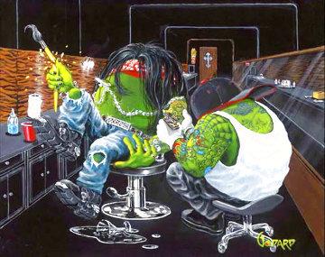 Ink Slinger 2008 Limited Edition Print - Michael Godard