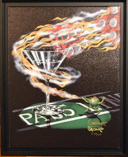 Burning It Up - Super Huge 58x46 Limited Edition Print - Michael Godard