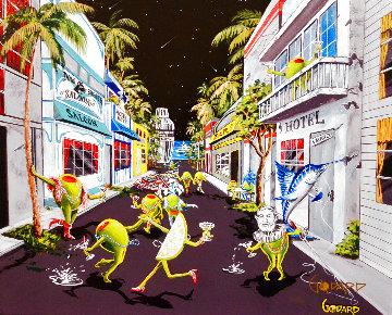 Fantasy Fest in Key West 2007  Limited Edition Print - Michael Godard