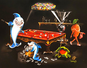 Pool Shark 3: All In 2009  Limited Edition Print - Michael Godard