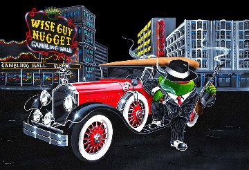 Wise Guy 2011 Huge Limited Edition Print - Michael Godard