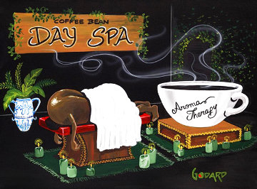 Aroma Therapy 2010 Super Huge Limited Edition Print - Michael Godard