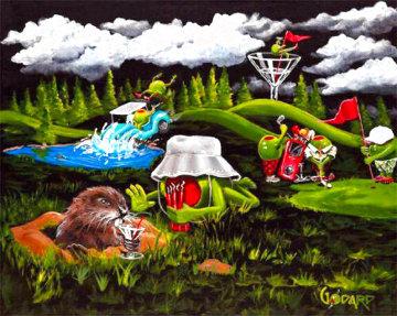 Caddy Shack 2008 Limited Edition Print - Michael Godard