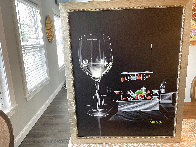 White Wine Cook 2015 30x24 Original Painting by Michael Godard - 1
