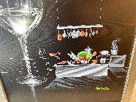 White Wine Cook 2015 30x24 Original Painting by Michael Godard - 3