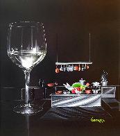 White Wine Cook 2015 30x24 Original Painting by Michael Godard - 0