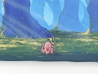 Chasing Fireflies 2015 Embellished Huge 24x72 Limited Edition Print by Michael Godard - 2