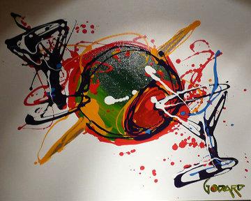 Olive Toothpick 2008 27x35 Original Painting - Michael Godard
