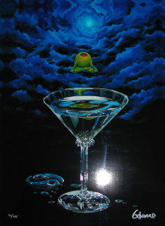 Zen Martini 2004 Limited Edition Print by Michael Godard