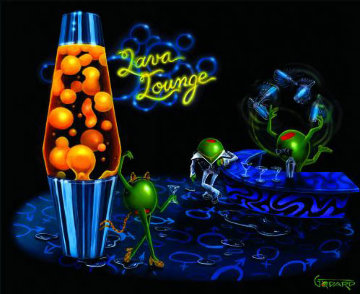 Lava Lounge 2006 Limited Edition Print by Michael Godard