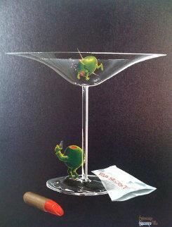 Mystery Martini 2002 Limited Edition Print by Michael Godard