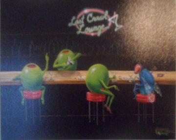 Bar Fly Limited Edition Print by Michael Godard