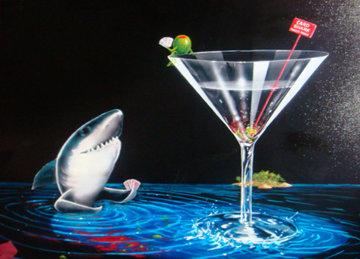 Card Shark 2007 Limited Edition Print by Michael Godard