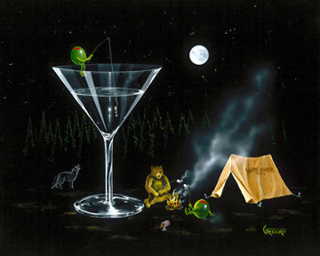 Happy Camper AP Limited Edition Print by Michael Godard