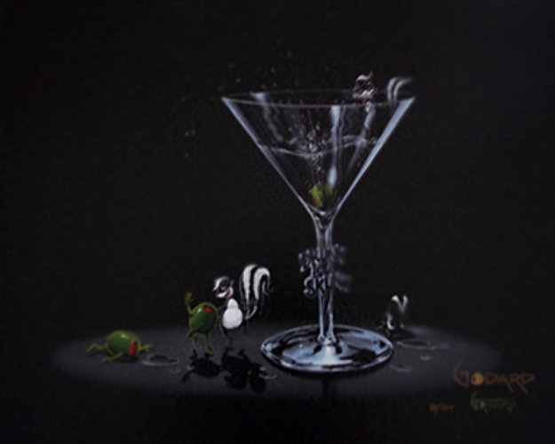 Drunk As a Skunk 2005 Limited Edition Print by Michael Godard