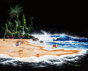 Paradise AP 2004 Limited Edition Print by Michael Godard