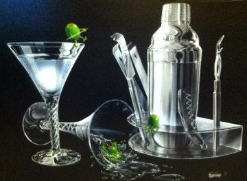 Three Amigos Embellished 2002 Limited Edition Print by Michael Godard