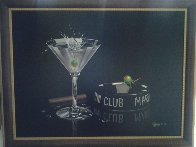 Martini Club 2003 Embellished Limited Edition Print by Michael Godard - 1