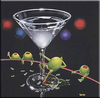 Dirty Martini 2003 Limited Edition Print by Michael Godard