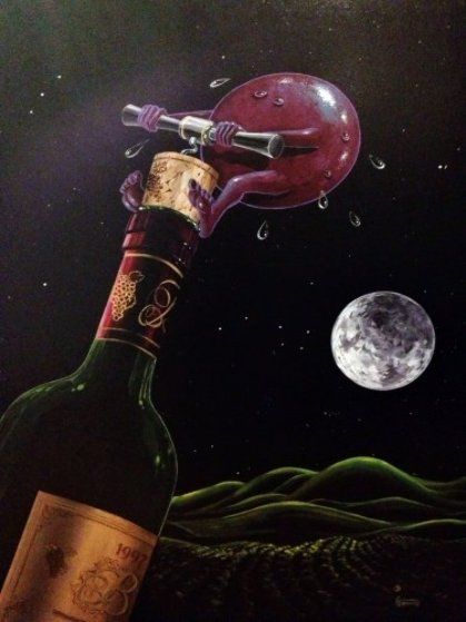 Something to Wine About 2008 Limited Edition Print by Michael Godard
