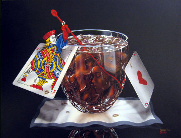 Black Jack And Coke 2003 Limited Edition Print by Michael Godard
