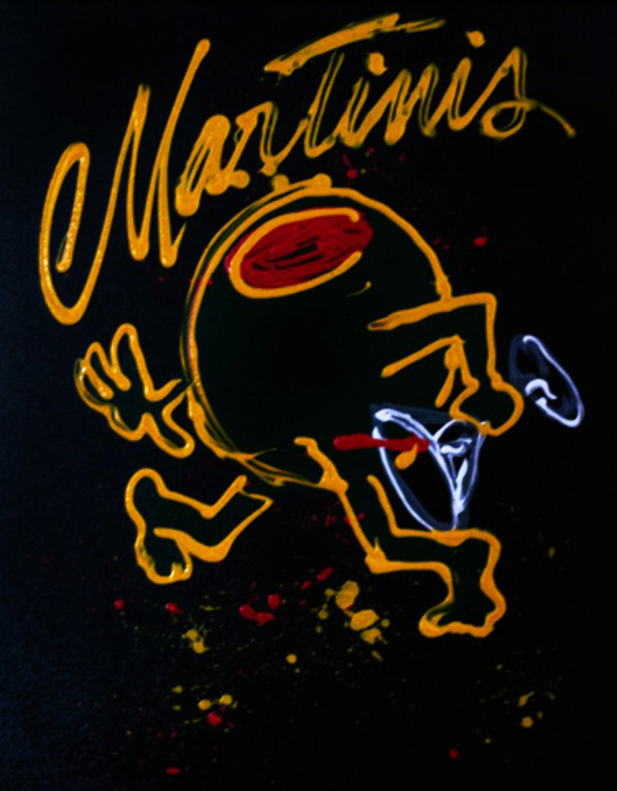 Martini 2008 24x30 Original Painting by Michael Godard