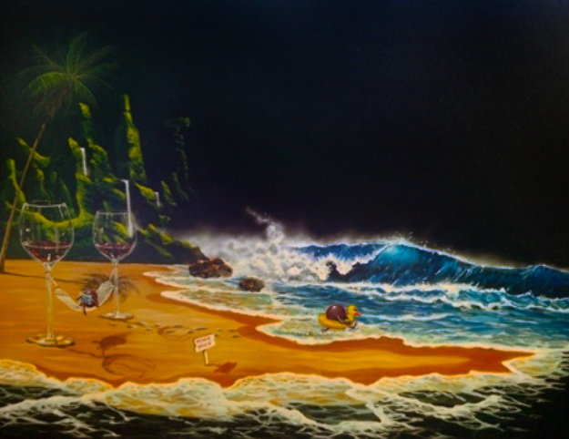 Paradise 2004 Limited Edition Print by Michael Godard