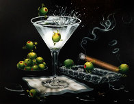 Olive Party II AP 2000 Limited Edition Print by Michael Godard - 0