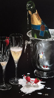 Champagne Tango 2003 Limited Edition Print - Michael Godard