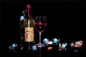 7 Deadly Zin's 2003 Limited Edition Print by Michael Godard