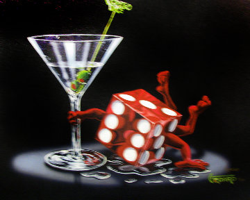 Loaded Dice 2006 Limited Edition Print by Michael Godard