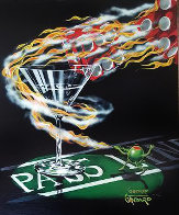 Burning It Up 2009 AP Limited Edition Print by Michael Godard - 0