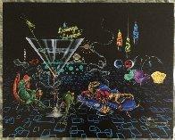 Lounge Lizard 2005 Limited Edition Print by Michael Godard - 1