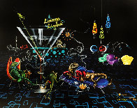 Lounge Lizard 2005 Limited Edition Print by Michael Godard - 0