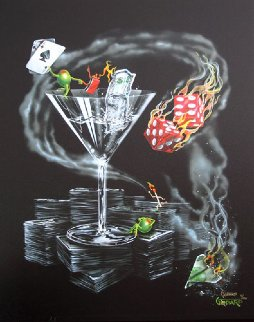 Don't Drink and Drive, Strike It Rich 2006 Limited Edition Print by Michael Godard