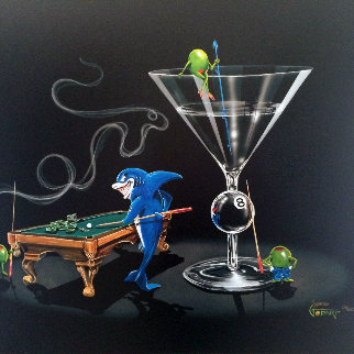 Pool Shark 2 - Empty Pockets 2004 Limited Edition Print by Michael Godard