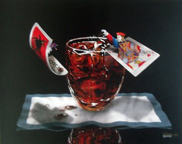 Jack and Coke 2004 Limited Edition Print by Michael Godard