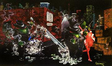 Gangster Chopper Featuring Al Capone 2007 Limited Edition Print by Michael Godard
